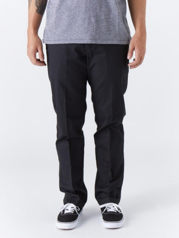 Dickies '67 Slim Fit Stretch Straight Leg Work Pants - Black