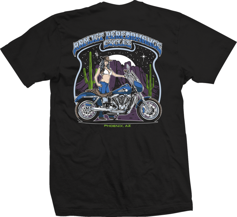 RAMJET MIDNIGHT SKY T-SHIRT