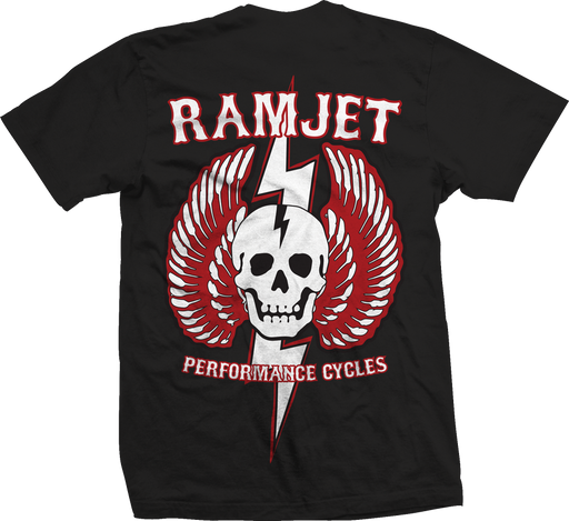 Ramjet Racing Striker Black T-Shirts