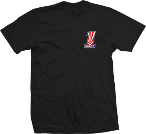 RAMJET AZ NUMBER 1 (RWB) T-SHIRT BLACK