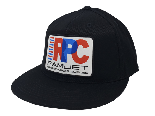 RAMJET RACING RPC FITTED HAT BLACK
