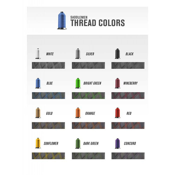 CUSTOM SADDLEMEN SEAT THREAD COLORS