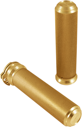 SPEED MERCHANT KNURLED ALUMINUM GRIPS (MORE COLOR OPTIONS)