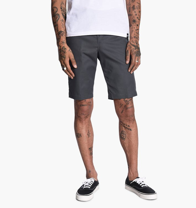 "Dickies '67 Slim FLEX 11"" Shorts - Charcaol Gray"