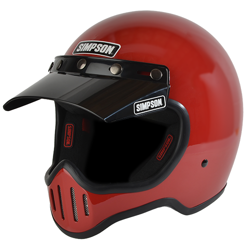 SIMPSON M50 MOTORCYCLE HELMET