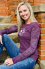 Women's Long Sleeve Burnout