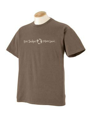 Men's classic short sleeve tee, buck color