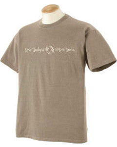 Men's classic short sleeve tee, mocha color