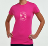 Women's Fashion Tee Hot Pink