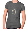 Women's Jersey & Cotton Blend Tee Heather Charcoal