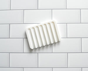 Silicone Soap Lift White