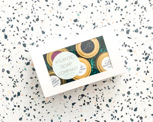 Gift Box of Five Soy Candles