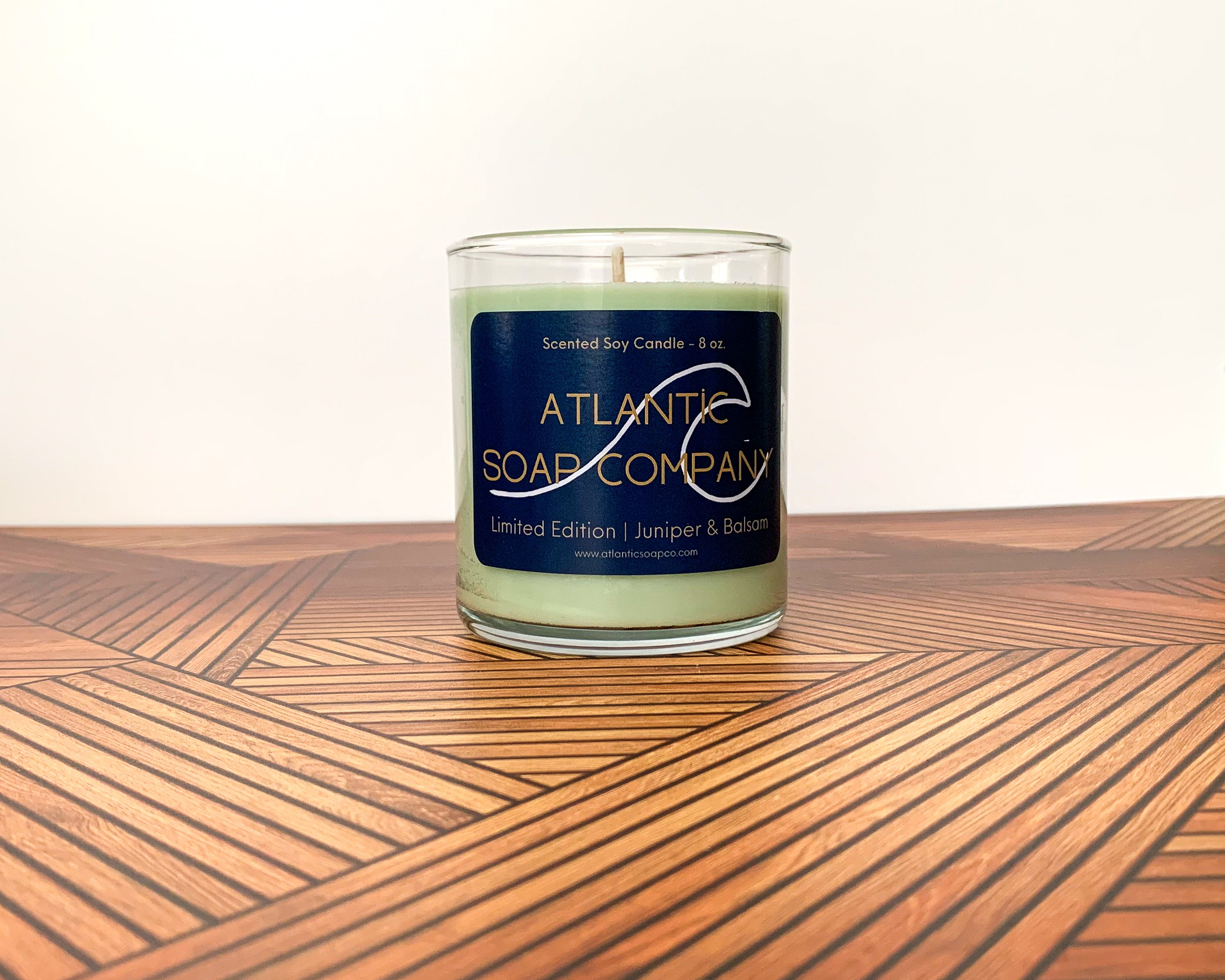 Holiday Collection 8 oz Soy Candle Juniper & Balsam