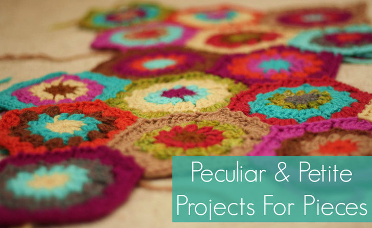 Peculiar & Petite Projects For Pieces: 40+ Free Scrap Busters in Knit and Crochet