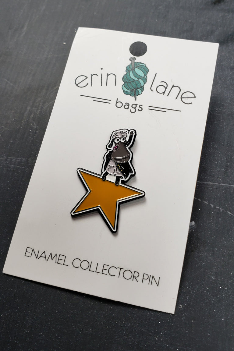 Enamel Pin in Alexlambder Sheepleton