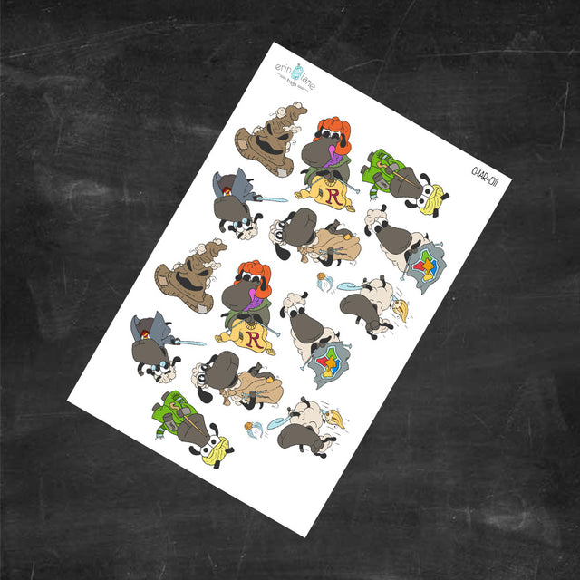 Planner Stickers Harry Potter Sheeple Characters