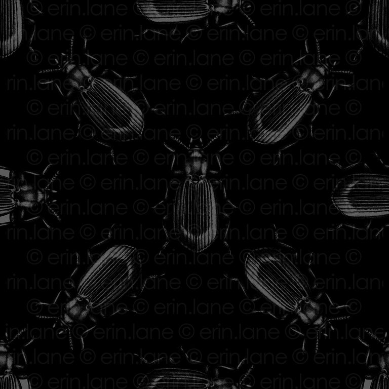 Half Yard of Darkling Beetle Fabric