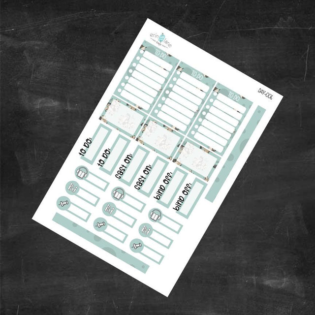 "Planner Stickers in Daily Larry ""Da Flock?"""
