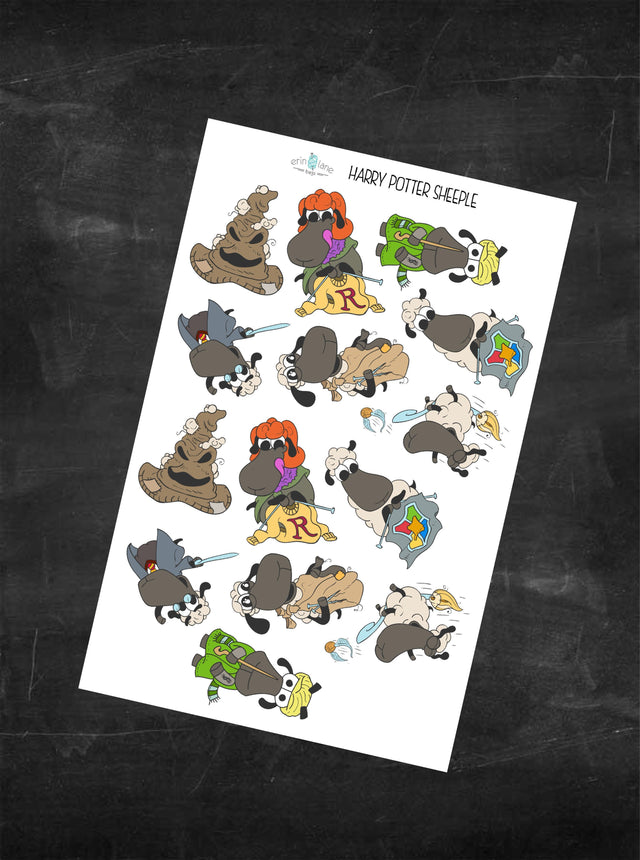 Planner Stickers Harry PotterSheeple Characters