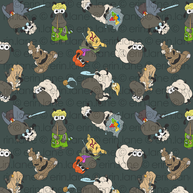 Half Yard of Harry Potter Sheeple Fabric