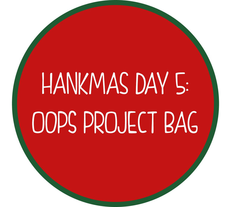 Oops Project Bag in Balls Accent