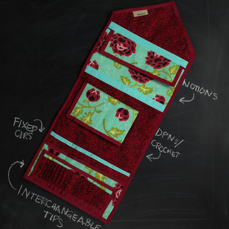 KnitPack Ultimate in Red and Teal
