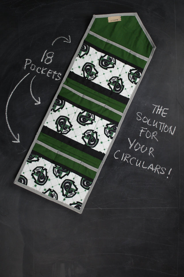 KnitPack Circular in Slytherin Crest
