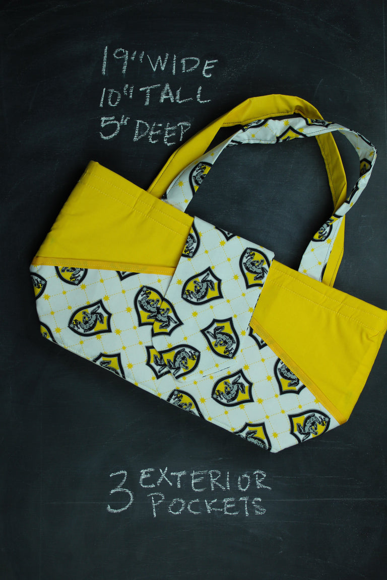 Ewesful Tote Bag in Hufflepuff Crest