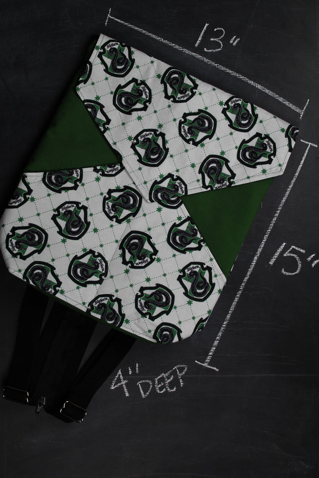 Ewetility Backpack In Slytherin Crest Tote