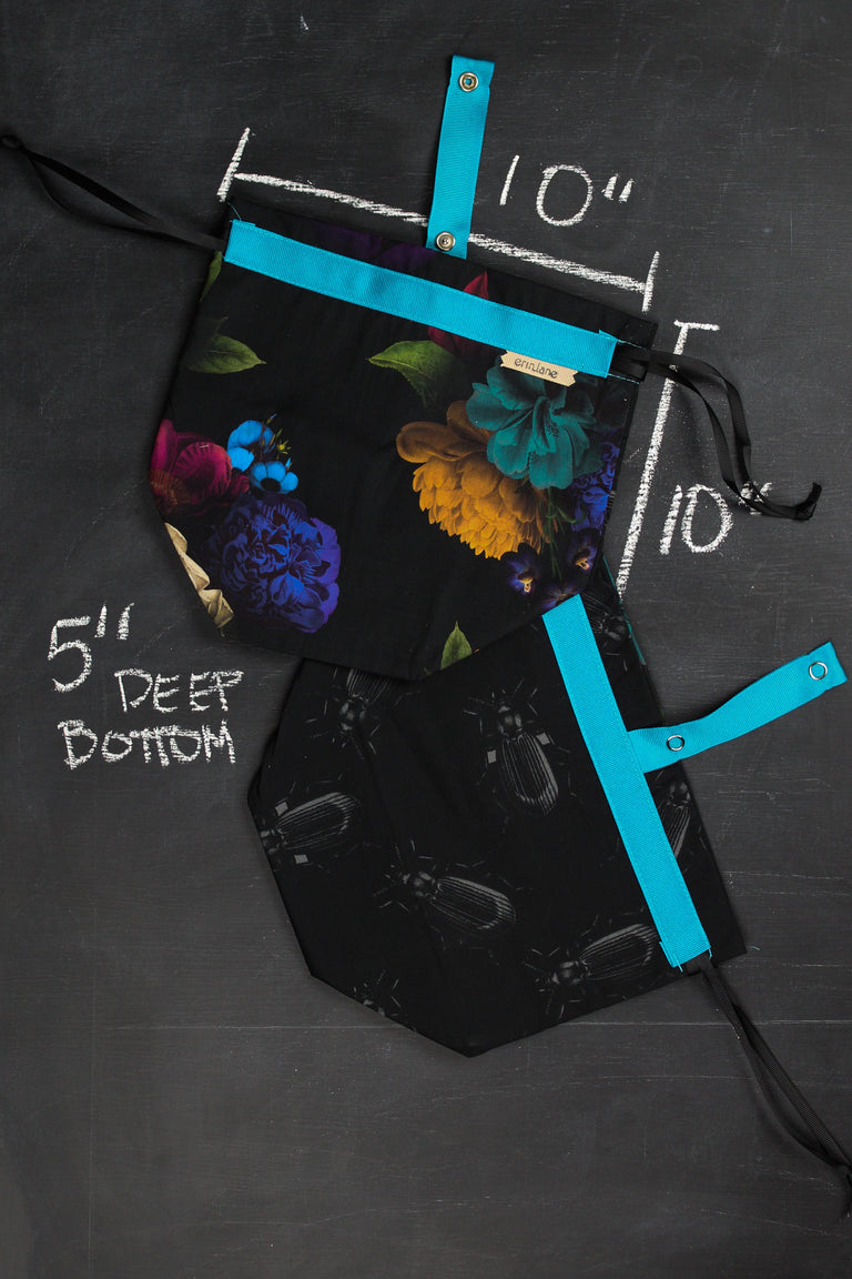 Sock Project Bag in Caravaggio Floral