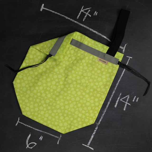 Sweater Project Bag in Bonehead Accent Green