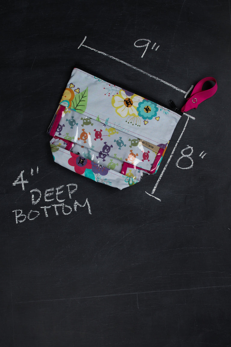 Viewfinder Project Bag In Gothic Floral Project Bag