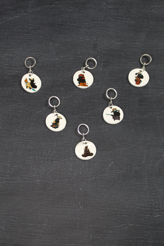 Stitch Marker Set in Harry Potter Sheeple