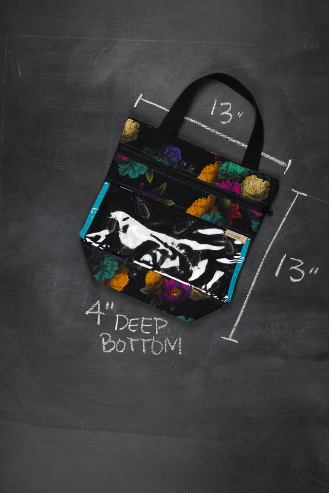 View Ewe Tote in Caravaggio Floral