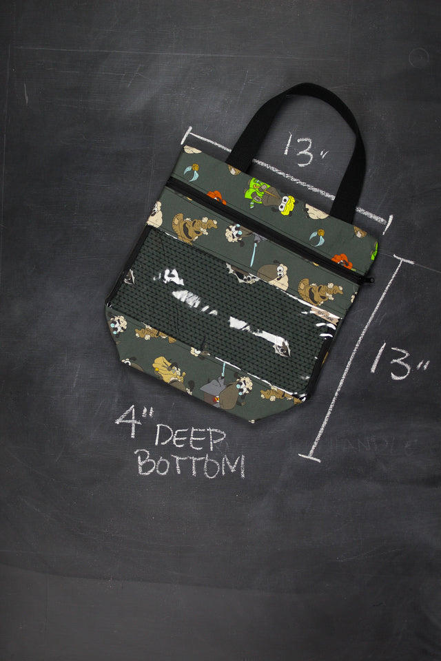 View Ewe Tote in Harry Potter Sheeple