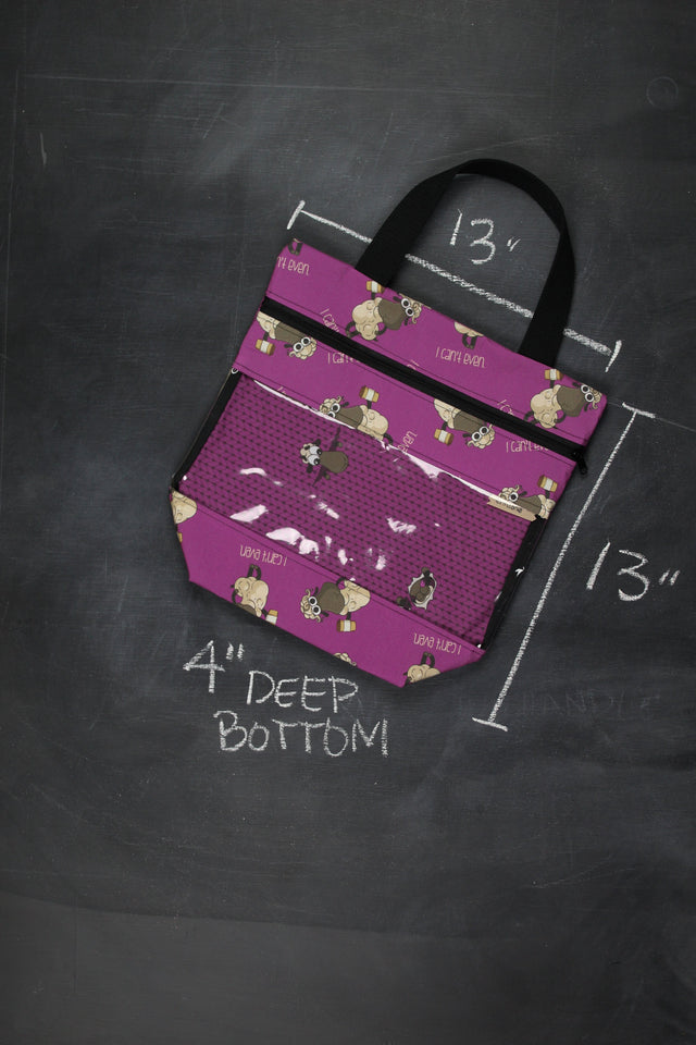 "View Ewe Tote in Demi ""I Can't Even"""