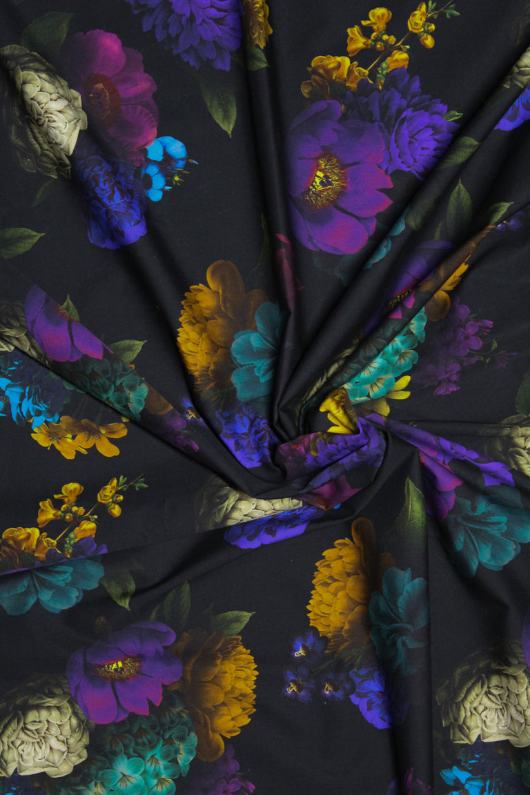 Half Yard of Caravaggio Floral Fabric