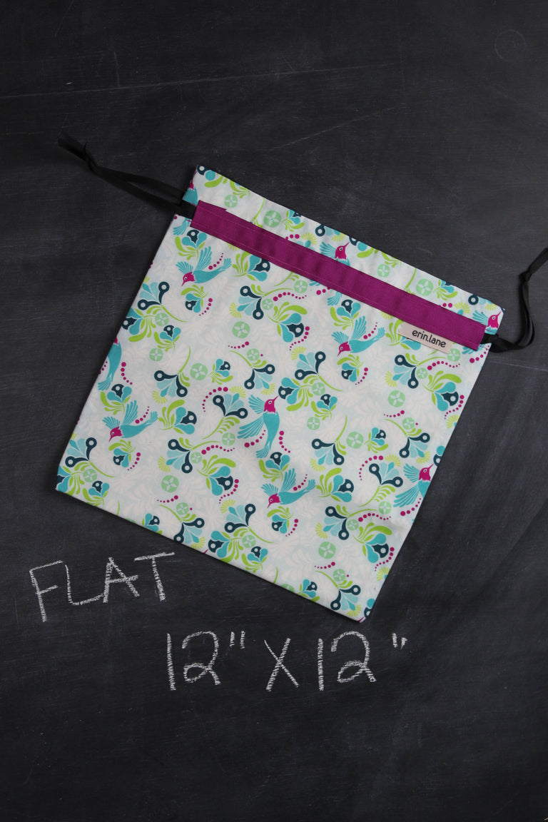 Small Project Bag in Flit and Bloom