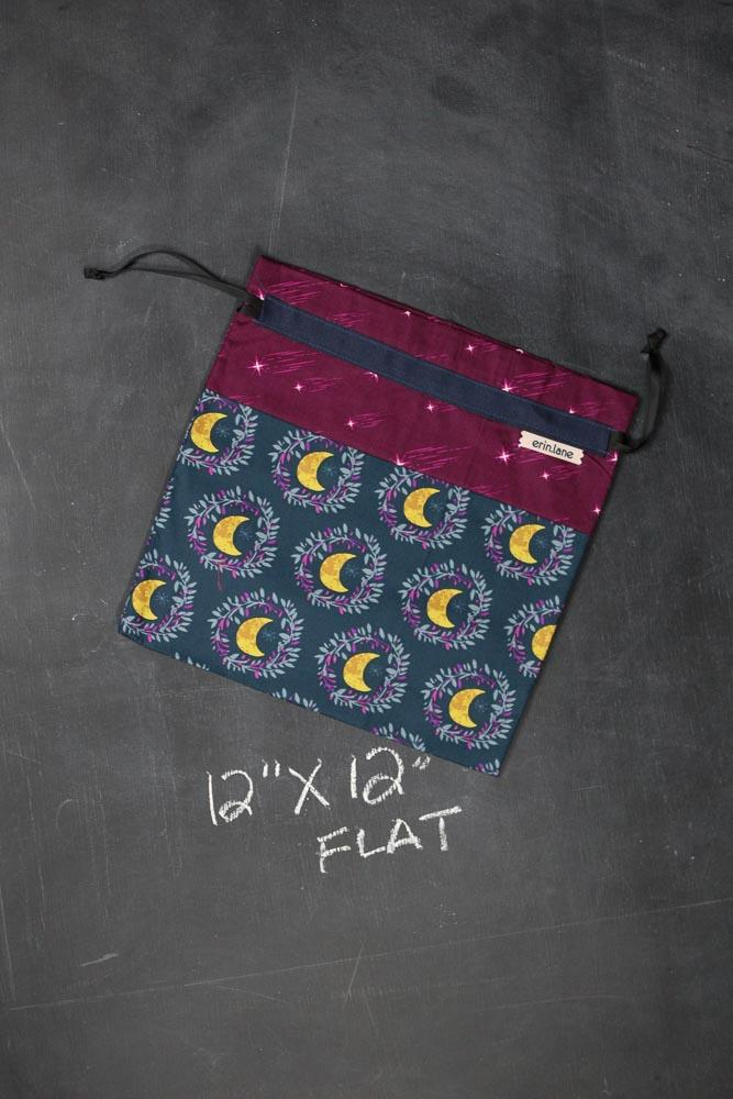 Small Project Bag in Moon Child