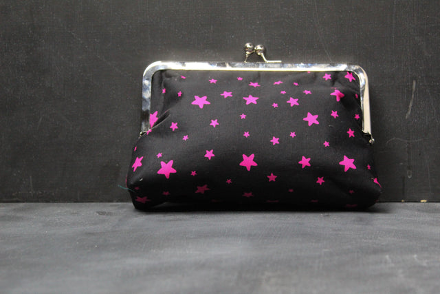 Chomp Chomp Clutch Bag in 90's Light Bright Stars