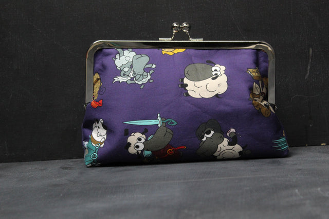 Chomp Chomp Clutch Bag in Narnia Sheeple