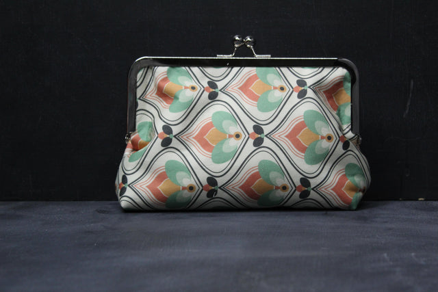 Chomp Chomp Clutch Bag in 70's Hearth Floral