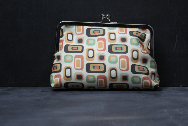 Chomp Chomp Clutch Bag in 70's Home Square