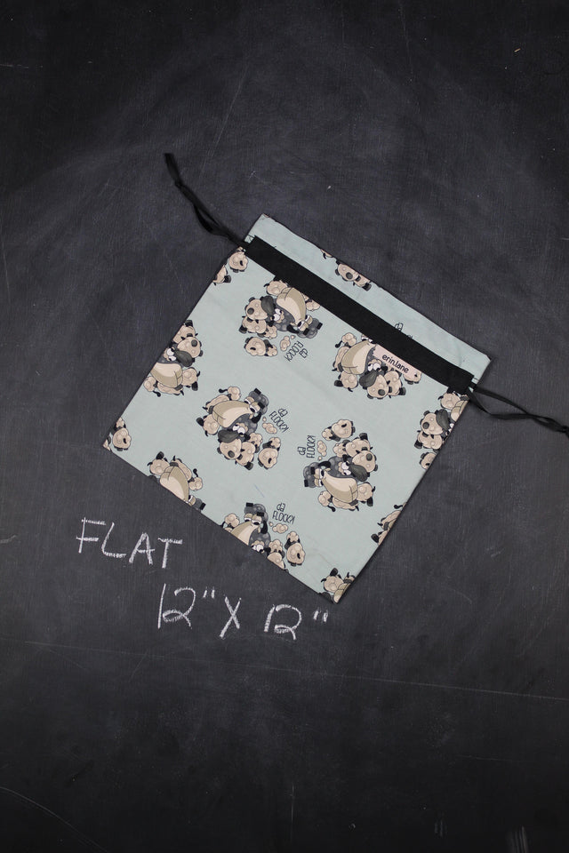 "Small Project Bag in Larry ""Da Flock?"""