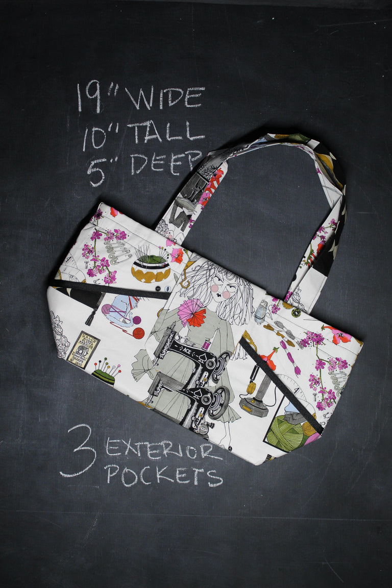 Ewesful Tote Bag in Ghastlies Crafts
