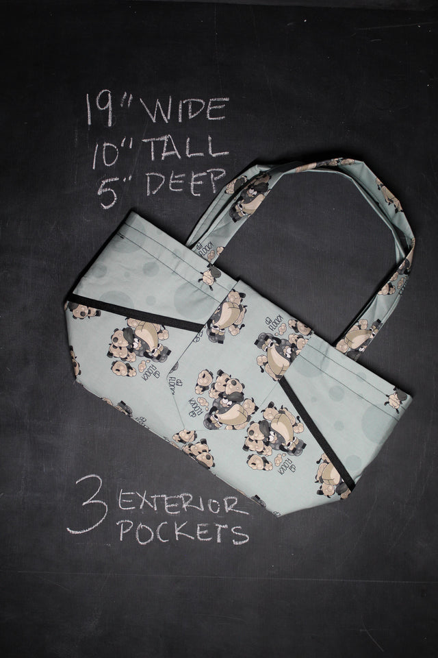 "Ewesful Tote Bag in Larry ""Da Flock?"""