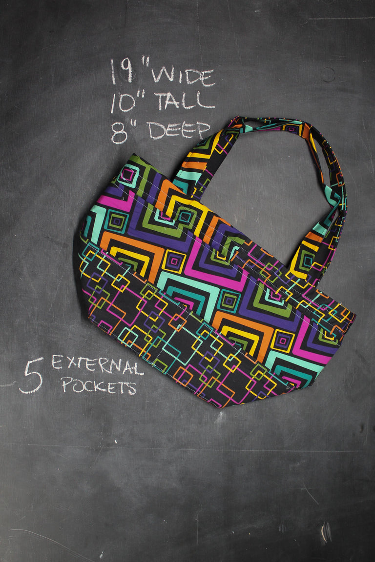 Barrel Tote in Electric Youth