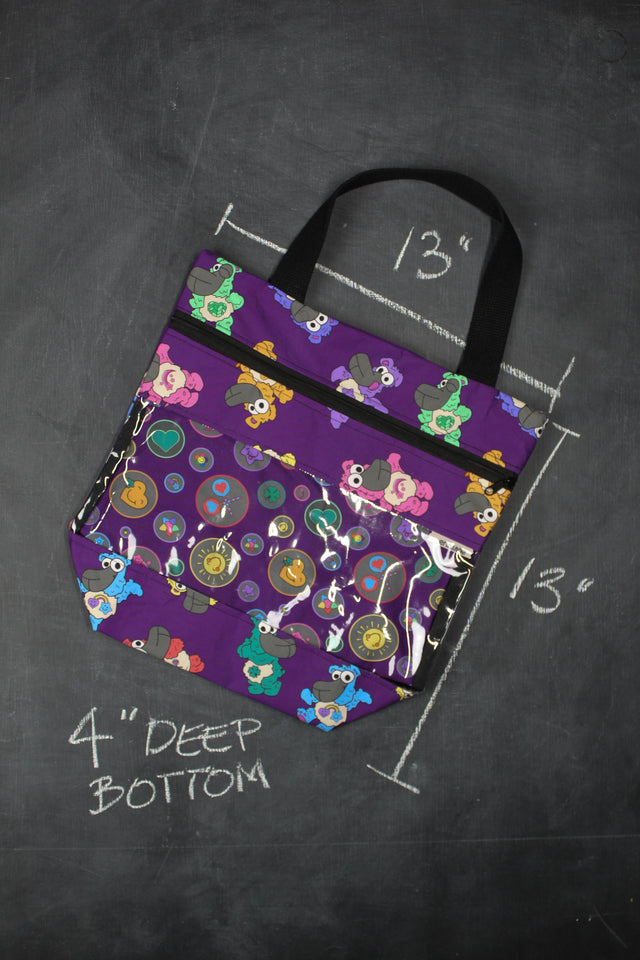 View Ewe Tote Bag in Care Bears Sheeple
