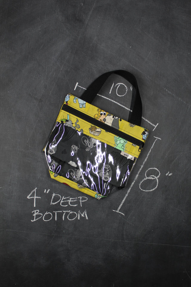 Mini View Tote Bag in Wizard of Oz Sheeple