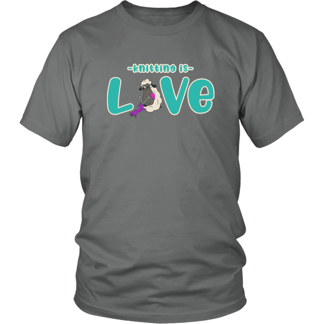 Knitting is Love Shirt